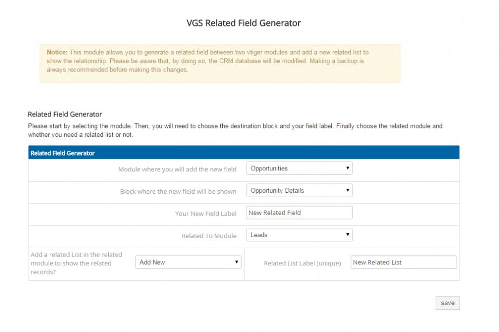 vtiger related fields 2