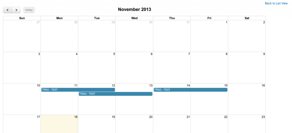 vTiger Calendar view in Custom Modules