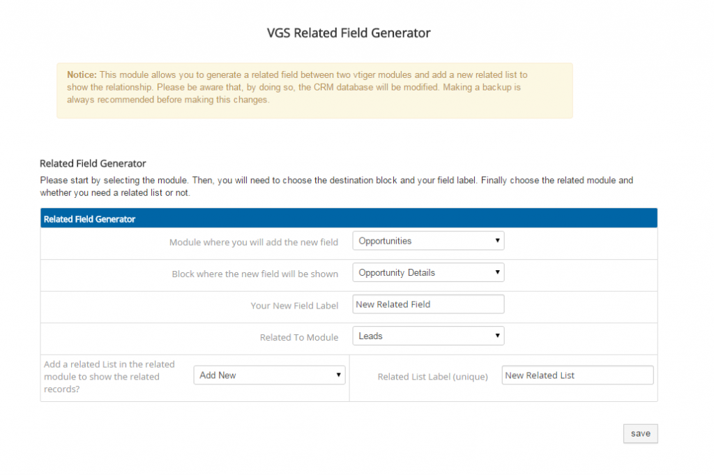 Vtiger free modules extensions the ultimate list vtiger free modules related fields saigontimesfo