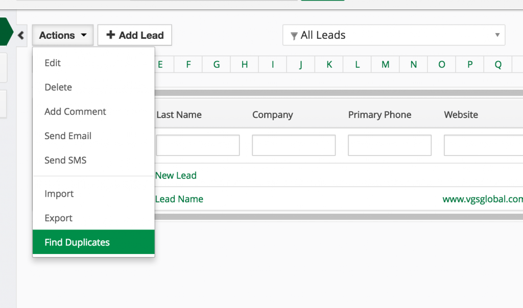 Keeping your Vtiger CRM data clean  Prevent and Merge Duplicates