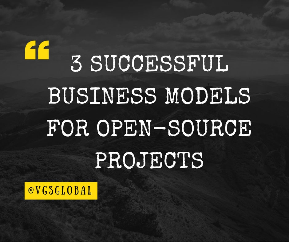 3 Successful Business models for Open Source Software