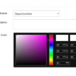 Vtiger Listview Colors - Color Picker